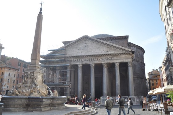 Rome Pantheon Day