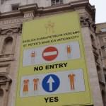 Rome St Peters Basilica Dresscode