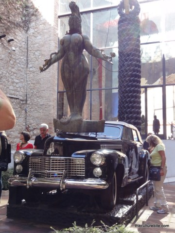 Barcelona Figueres Dali Museum Cadillac