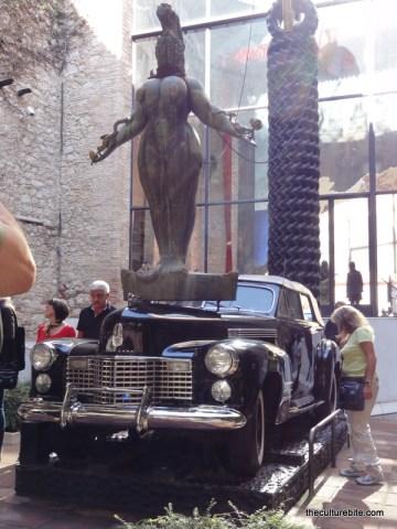 Barcelona Figueres Dali Museum Cadillac