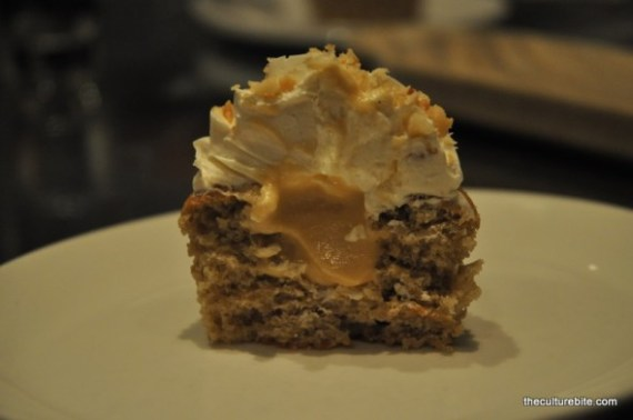 Ad Hoc Banana Cupcake Inside