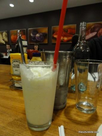 Barneys Vanilla Malt Milkshake