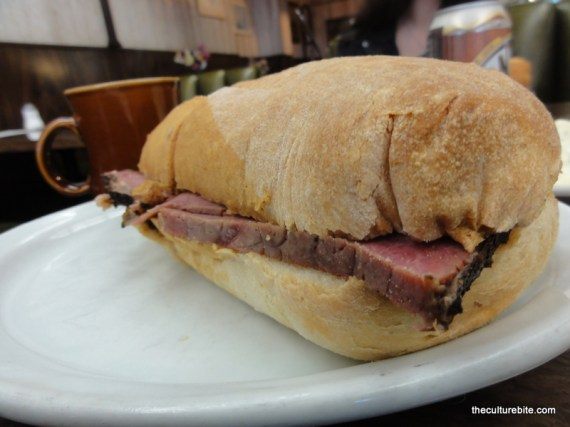 Chick N Coop Pastrami Sandwich