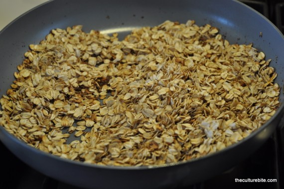 Toasted Oatmeal Browned