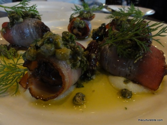 Wayfare Tavern Bacon Wrapped Dates