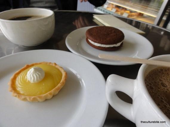 Destinations Lemon Tart Moon Pie