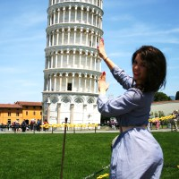 INSIDE THE LEANING TOWER OF PISA