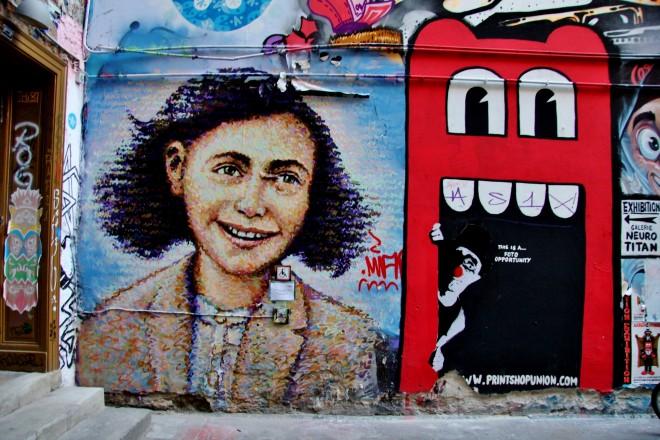 New China Girl Wallpaper Street Art Alley In Hackescher Markt Berlin The Culture Map