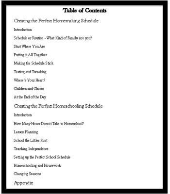 Review The Homemaker\u0027s Guide to Creating the Perfect Schedule - The
