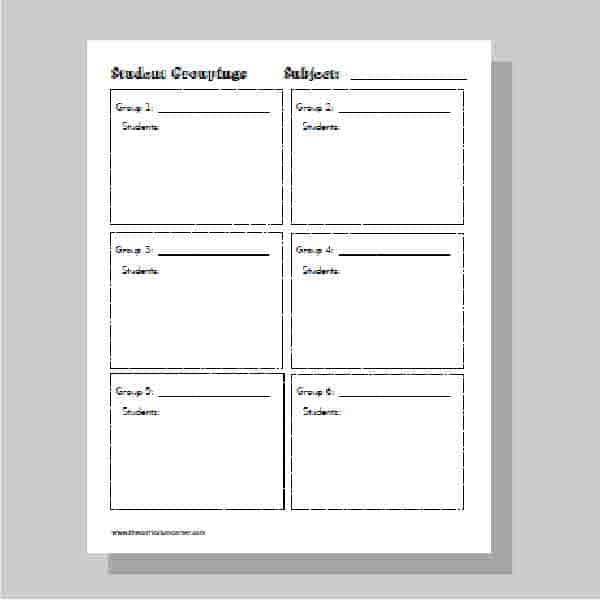 Teacher Planning Binder - The Curriculum Corner 123