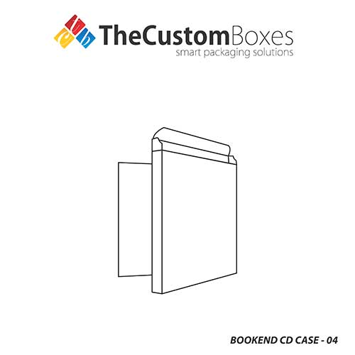 TheCustomBoxes Provides Bookend CD Case Printing Designs