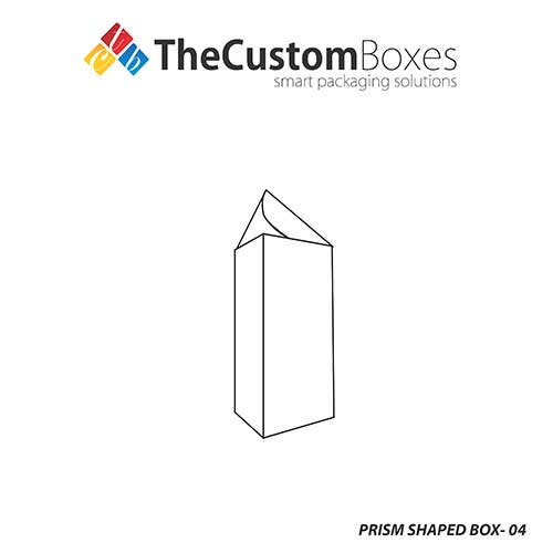 Fancy Prism Shaped Box Packaging - The Custom Boxes