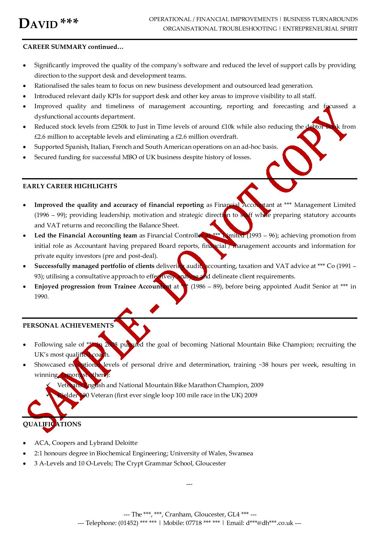 executive cv advice sample customer service resume executive cv advice executive cv examples the cv store cv example director executive cv example general