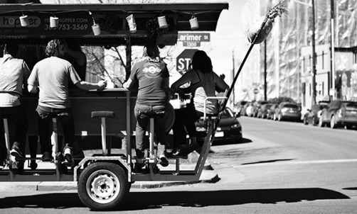 Beer trolley