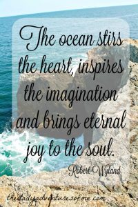 Thursday Travel Inspiration from the Ocean