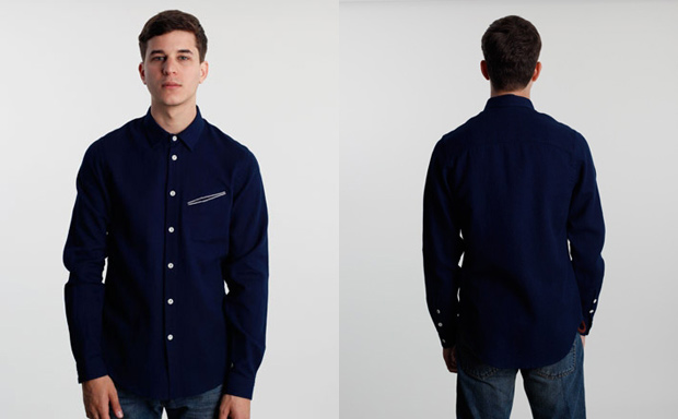 Folk-Double-Colour-Shirt-Navy-Waffle1