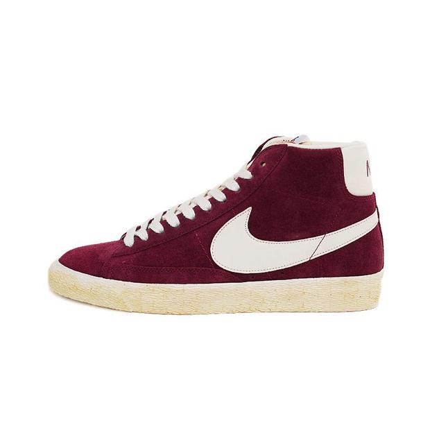 Nike Blazers Alta Burdeos Superior PNoPQp