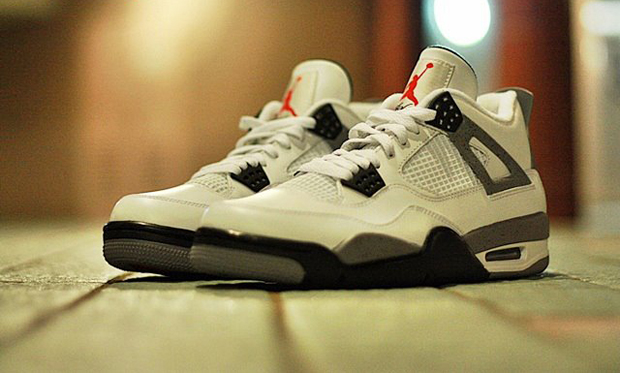 Air Jordan IV 2012 Retro (White Cement) 756c89163