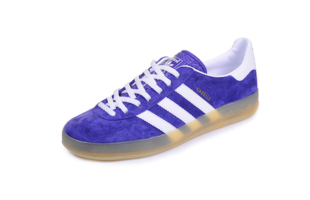 Adidas Gazelle Indoor (Purple, Grey & Red)