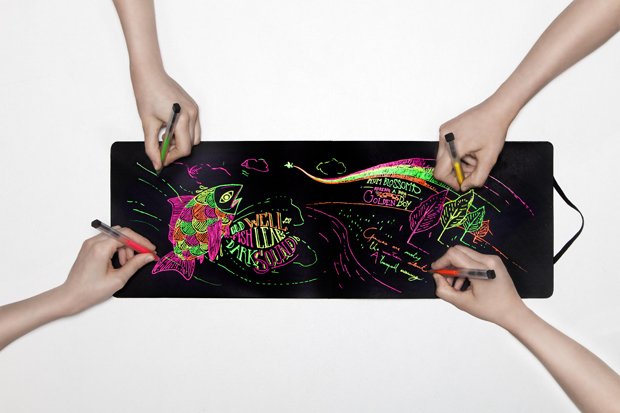 Moleskine_fluorescent_roller_pens