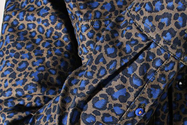 Libertine-Libertine-AW12-Howl-Shirt-Brown-Blue-Leopard-Print-03