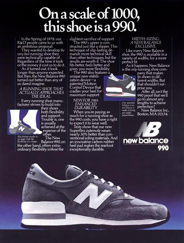 New-Balance-990-Original-Vintage-Advert-Poster-Magazine-01