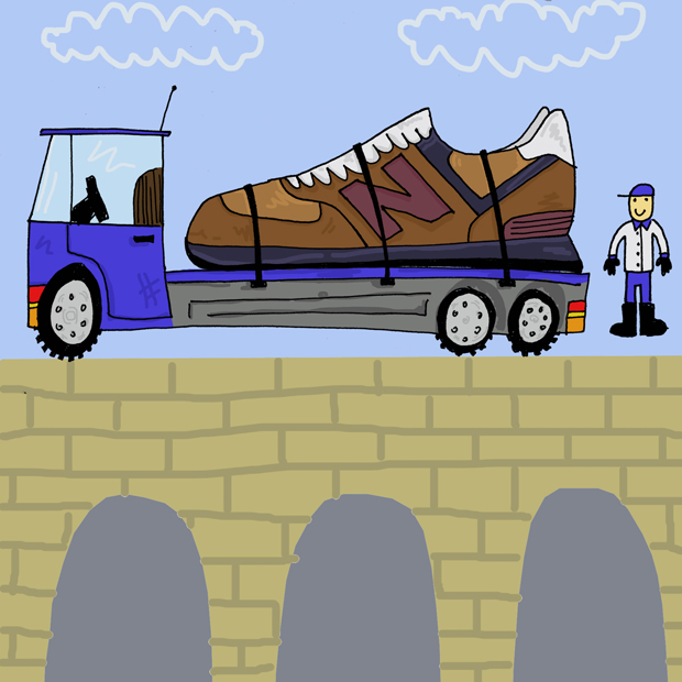 Trainer Takeover Sneaker Illustration Series by Josh Parkin The Daily Street 09