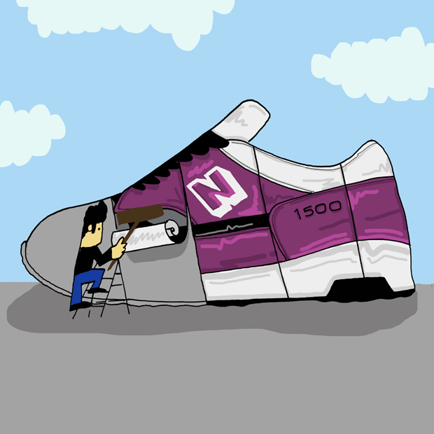 Trainer Takeover Sneaker Illustration Series by Josh Parkin The Daily Street 11