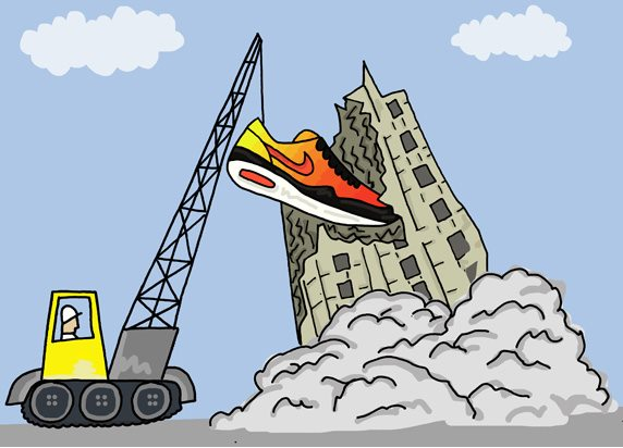 An Illustrated Preview of Nike SS13 Footwear by Josh Parkin for The Chimp Store 05