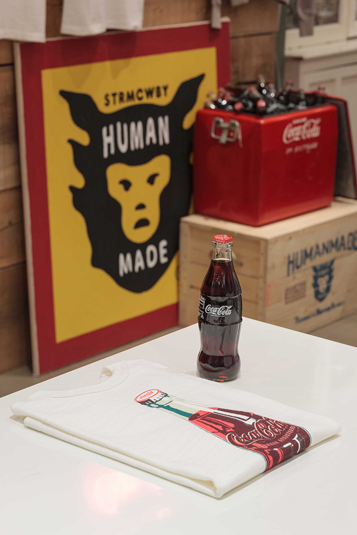 Human Made x Coca-Cola display Present London 03
