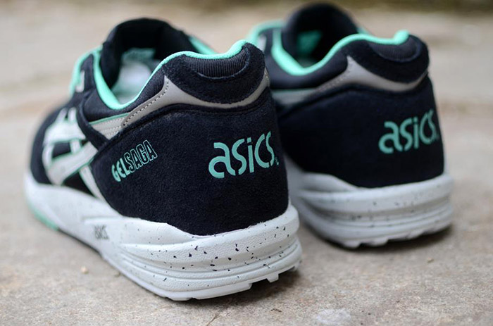 Asics Gel Saga Black Spearmint 04