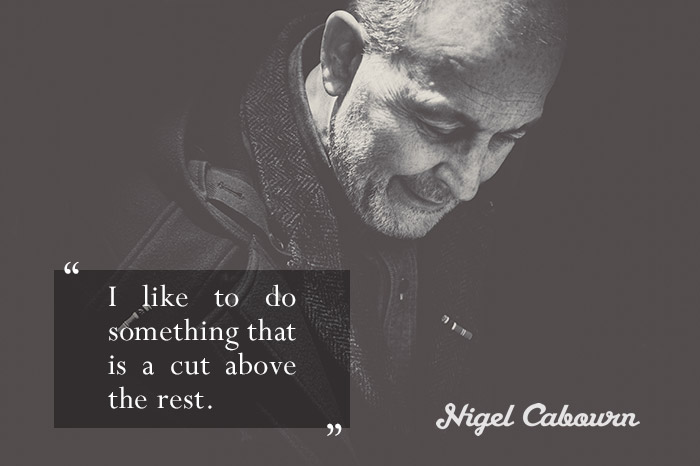 Interview Nigel Cabourn talks about his collaboration with Converse 01