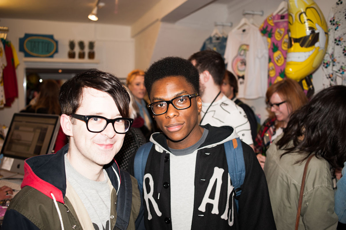 Recap Lazy Oaf Summer 2013 Collection Launch Party London 06