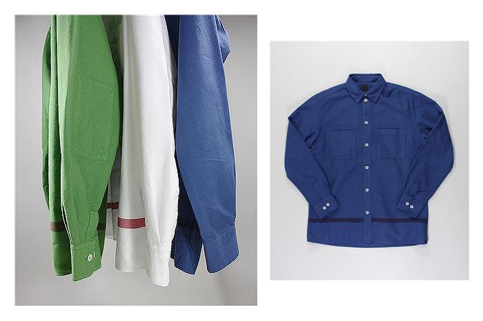 Albam Straight Hem Shirts 01