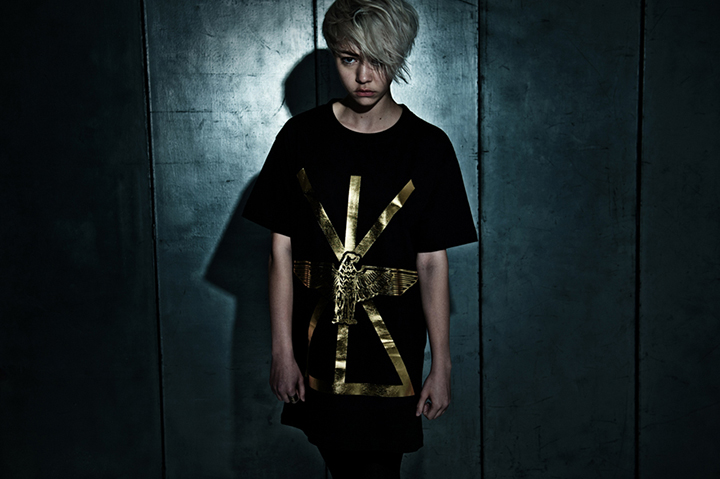 BOY LONDON x LONG clothing foil range 01