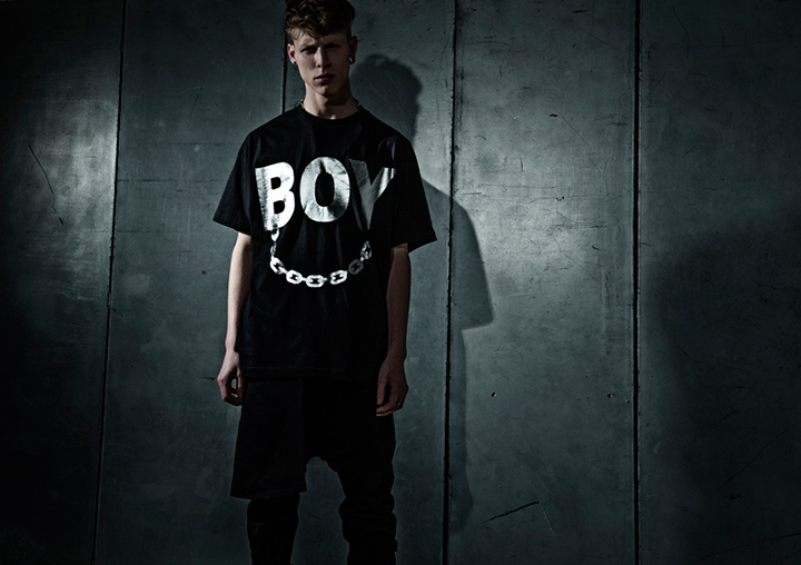 BOY LONDON x LONG clothing foil range 02