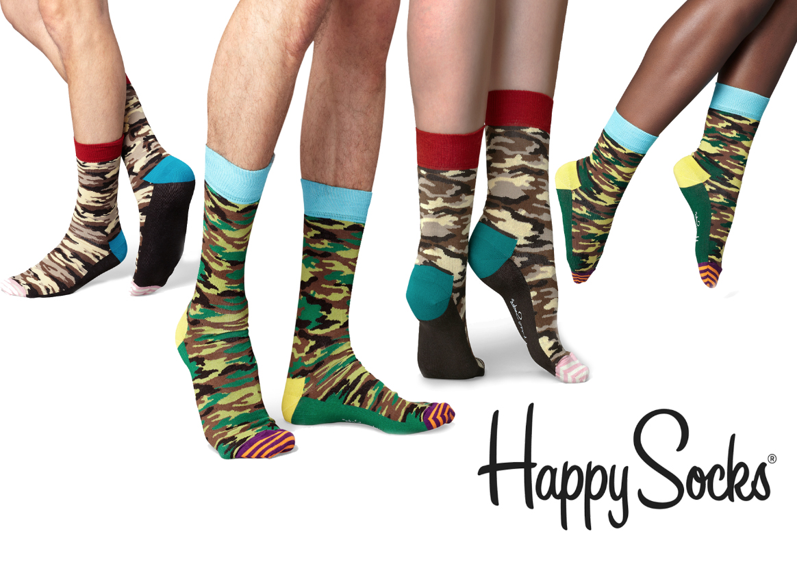 Happy Socks Camo Pack 01