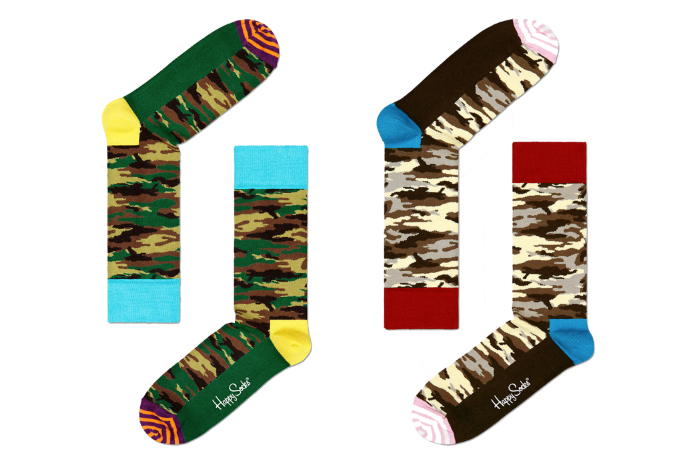 Happy Socks Camo Pack 02