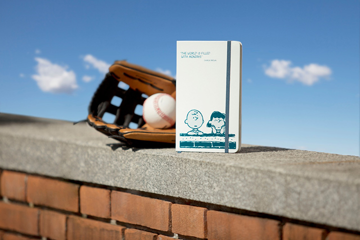 Moleskine x Peanuts white cover diaries planners for 2014 04