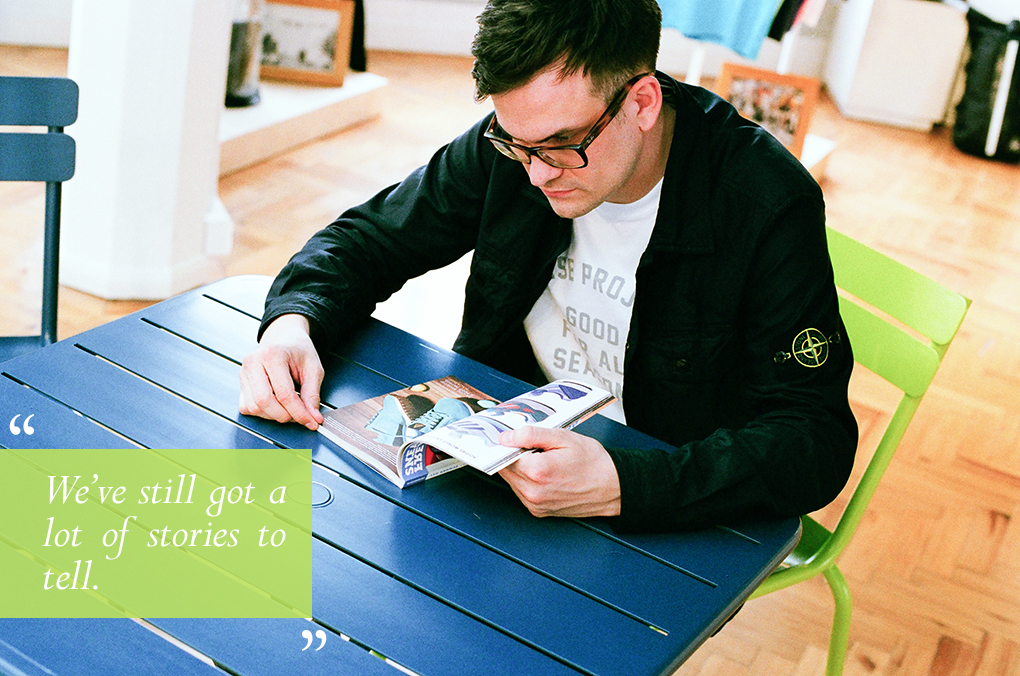 Do It Right interview Marc Chamberlain Le Coq Sportif The Daily Street 03