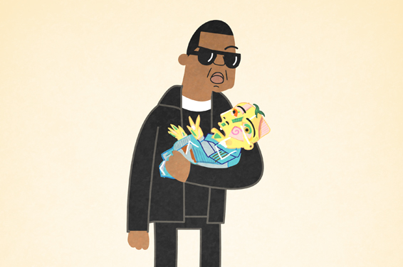 Jay-Z 99 problems illustrated by Ali Graham 01