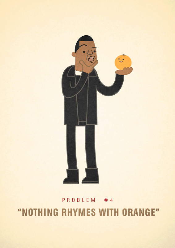 Jay-Z 99 problems illustrated by Ali Graham 05