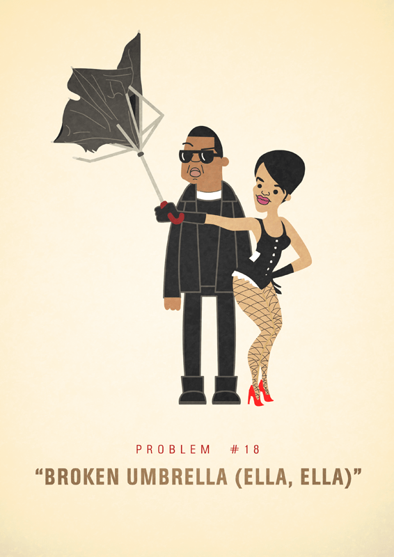 Jay-Z 99 problems illustrated by Ali Graham 08