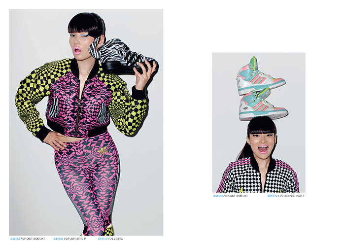 adidas Originals by Jeremy Scott Fall:Winter 2013 Lookbook 14