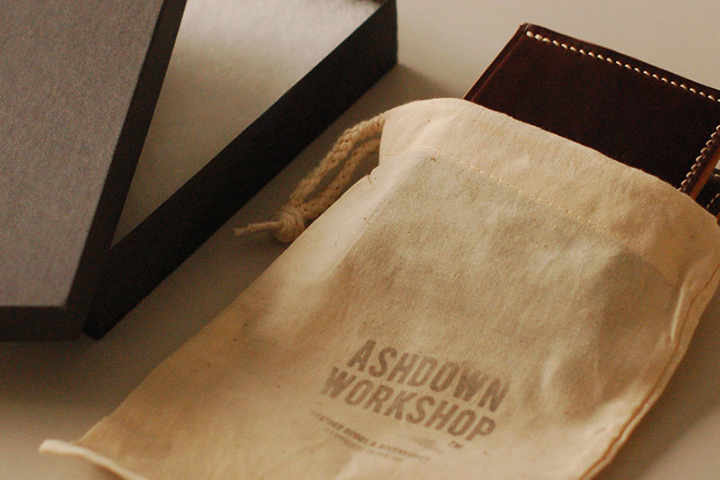 Ashdown Workshop Horween Collection Premium Bi-Fold Wallets 008