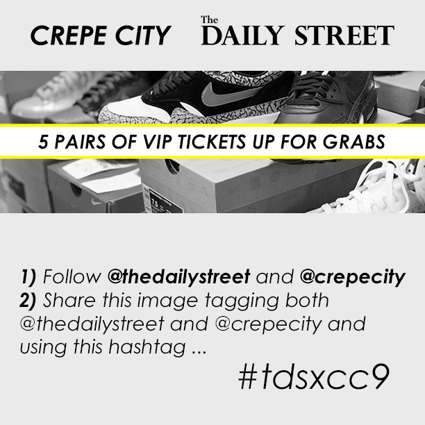 The Daily Street Crepe City 9 VIP competition tdsxcc9