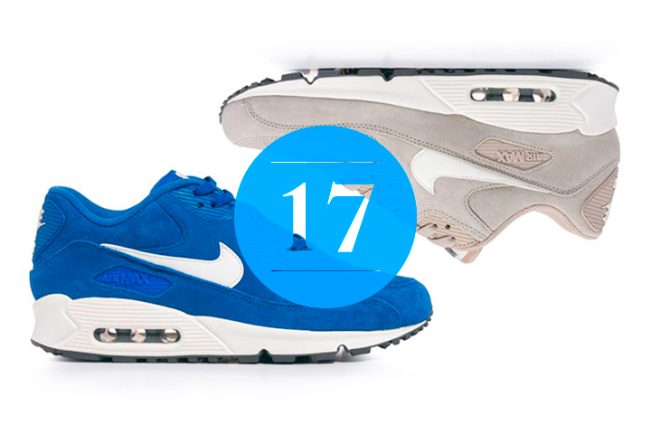 17 Nike Air Max 90 Tonal Suede Pack