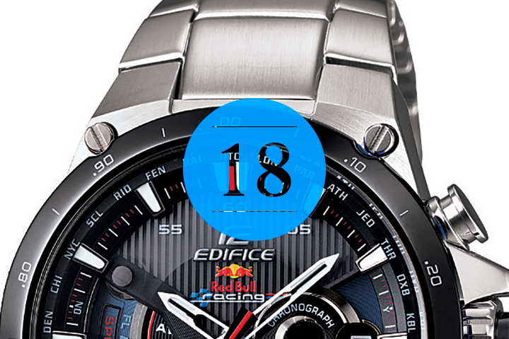 18 Casio x Red Bull Racing Edifice A1000 Watch