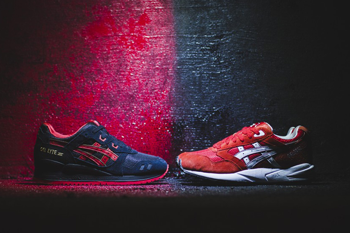 ASICS Gel Saga Lyte III Lovers Haters Valentines Pack 001