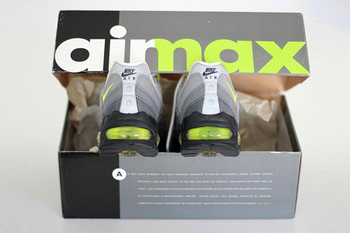 1995 Nike Air Max 95 box